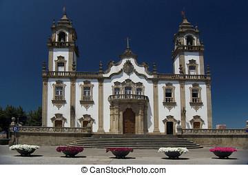 Church of Misericordia in Viseu, Portugal