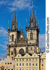 Church of Mother of God in front of Tyn, Prague - Church of...