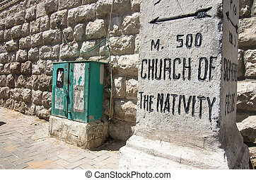 church of nativity street sign