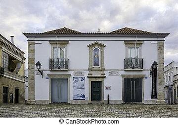 Church of Nossa Senhora da Soledade. Algarve, Olhao. Portugal