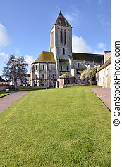 Church of Ouistreham in France