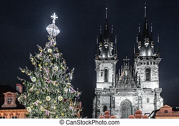 Church of Our Lady before Tyn at Prague, Czech Republic