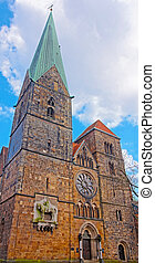 Church of Our Lady in Bremen in Germany. It is placed in the...