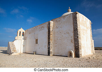Church of Our Lady of Grace at Sagres Fortress, Algarve, ...