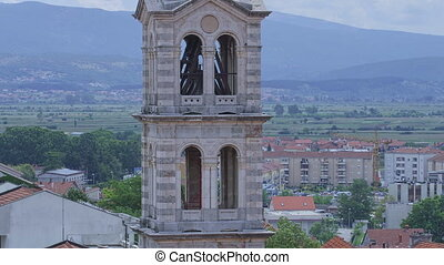 Church of Our Lady of Sinj tower - View of the church tower...