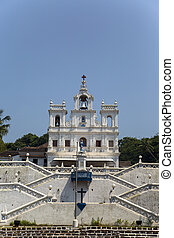 Church of Our Lady of the Immaculate Conception at Panaji, Goa, India