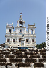 Church of Our Lady of the Immaculate Conception at Panaji, Goa,