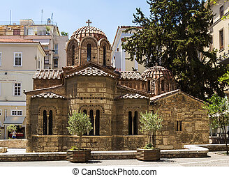 Church of Panaghia Kapnikarea, Athens - The Church of...