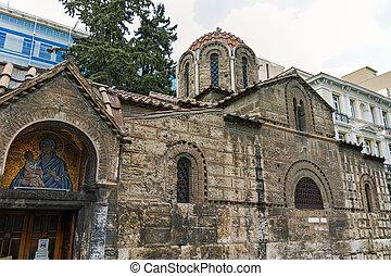 Church of Panaghia Kapnikarea in Athens, Attica, Greece