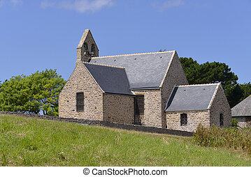 Church of Pleherel in France