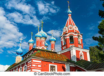 Church of Prince Dmitry on the Blood in Uglich, Russia