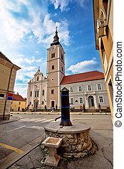 Church of saint Ana in Krizevci, Prigorje, Croatia