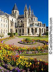 church of Saint Etienne, L'Abbaye Aux Hommes, Caen, Normandy, France