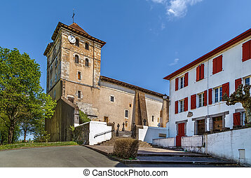 Church of Saint-Etienne, Espelette, France