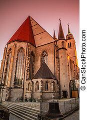 Church of Saint Jochannis, Jochanniskirche, Magdeburg,...