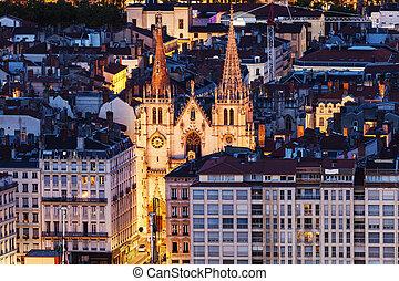 Church of Saint Nizier in Lyon