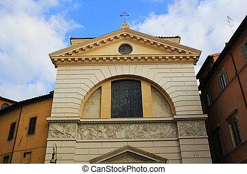 Church of Saint Pantaleo in Rome, Italy .