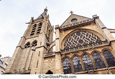 Church of Saint-Severin in Paris. France