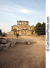 Church of Saint Simeon ruin - Ruins of the byzantine church...