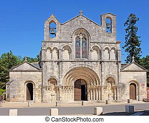 Church of Saint Vivian in Pons, France