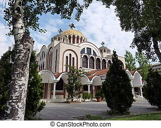 Church of Saints Cyril and Methodius in Thessaloniki,...