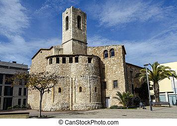 Church of San Cristobal in Cunit,  Spain