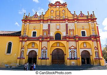 Church of San Cristobal, Mexico