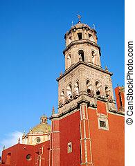 Church of San Francisco in Queretaro, Mexico.