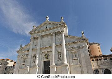 Church of San Giorgio Maggiore in Venice, Italy.