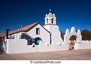 Church of San Pedro, a National Monument, San Pedro de Atacama, Chile