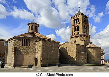 Church of Santa Eugenia de Berga - Romanesque Church of...