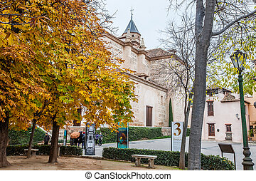 Church of Santa Maria, Alhambra