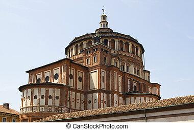 Church of Santa Maria delle Grazie in Milan . - Church of ...