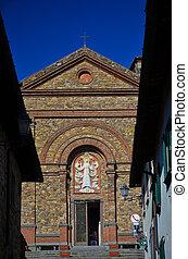 Church of Santa Maria, Panzano in Chianti, Tuscany 1