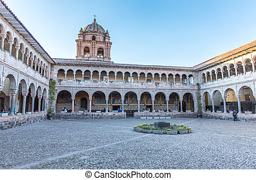 Church of Santo Domingo, Coricancha, Cusco, Peru, South ...
