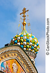 Church of Savior on Spilled Blood - Detail of Church of...