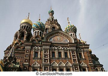 Church of Savior on Spilled Blood - The Church of the Savior...