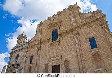 Church of SS. Rosario. Manduria. Puglia. Italy.