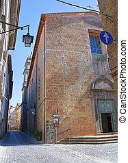 Church of St. Agostino. Acquapendente. Lazio. Italy.
