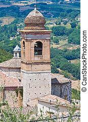 Church of St. Agostino. Amelia. Umbria. Italy.