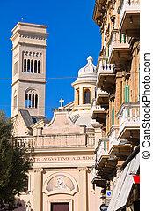 Church of St. Agostino. Bisceglie. Puglia. Italy.