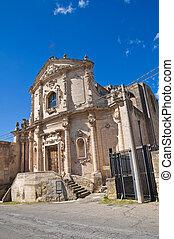 Church of St. Agostino. Massafra. Puglia. Italy.