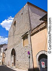Church of St. Agostino. Narni. Umbria. Italy.