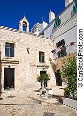 Church of St. Agostino. Noci. Puglia. Italy.