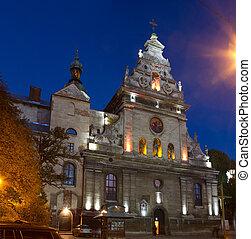 Bernardine monastery in Lviv