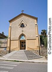 Church of St. Anna. Melfi. Basilicata. Italy.