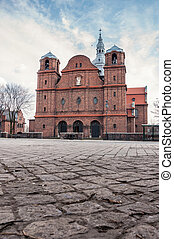 Church of St. Anne in Nikiszowiec district, Katowice, Poland