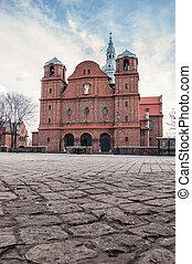 Church of St. Anne in Nikiszowiec district, Katowice, Poland