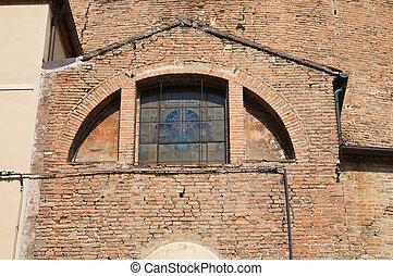 Church of St. Carlo. Ferrara. Emilia-Romagna. Italy.