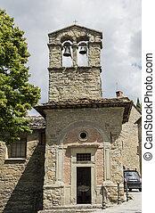 Church of St. Christopher, Cortona, Tuscany, Italy